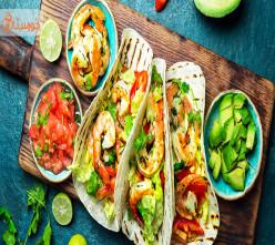 طرز تهیه تاکو(غذای مکزیکی)