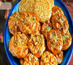 طرز تهیه سوهان عسلی + نکات خوشمزه تر شدن آن