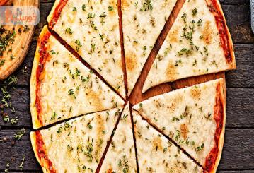 تهیه پیتزا خونگی خوشمزه