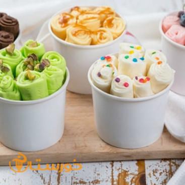 رول بستنی کاردک