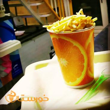 بستنی سنتی نمونه جلیل خانی
