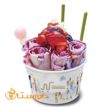 بستنی رولی بارل