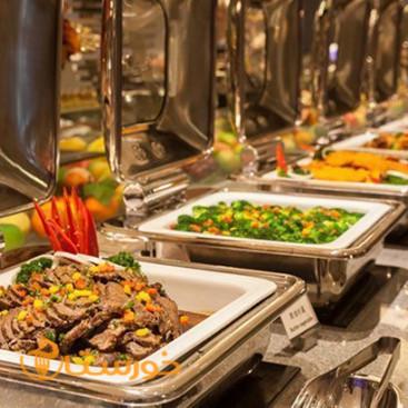 بوفه غذایی هتل ورزش